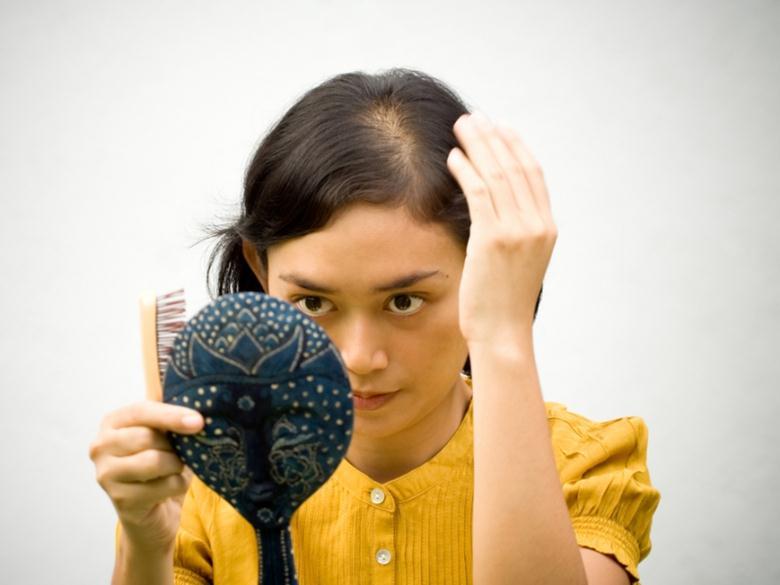 Резкое уменьшение количества волос после родов