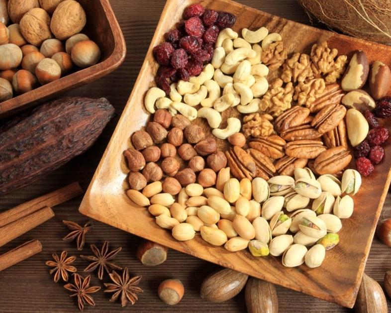 Разнообразные орехи
