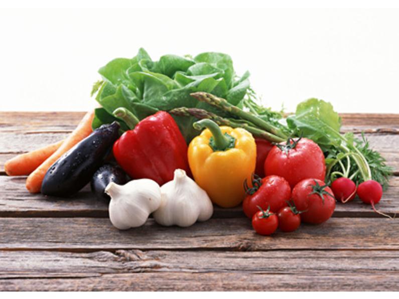 Растительная пища содержит полезные вещества