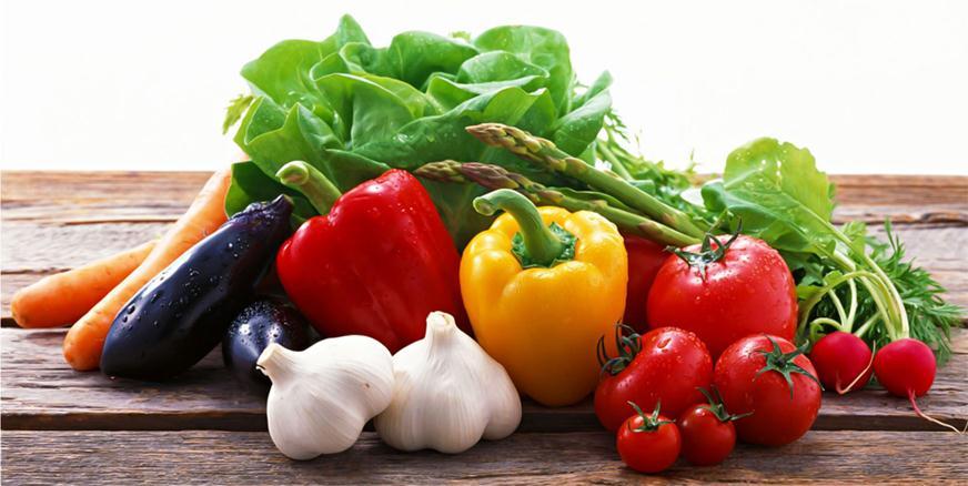 Растительная пища поддерживает здоровье волос