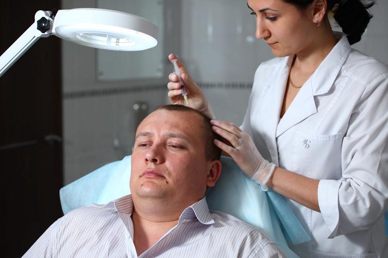 Уколы под кожу головы для укрепления волос