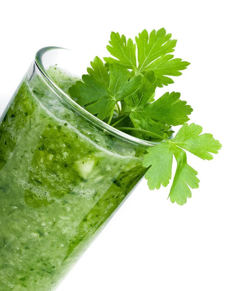 Зелень содержит токоферол