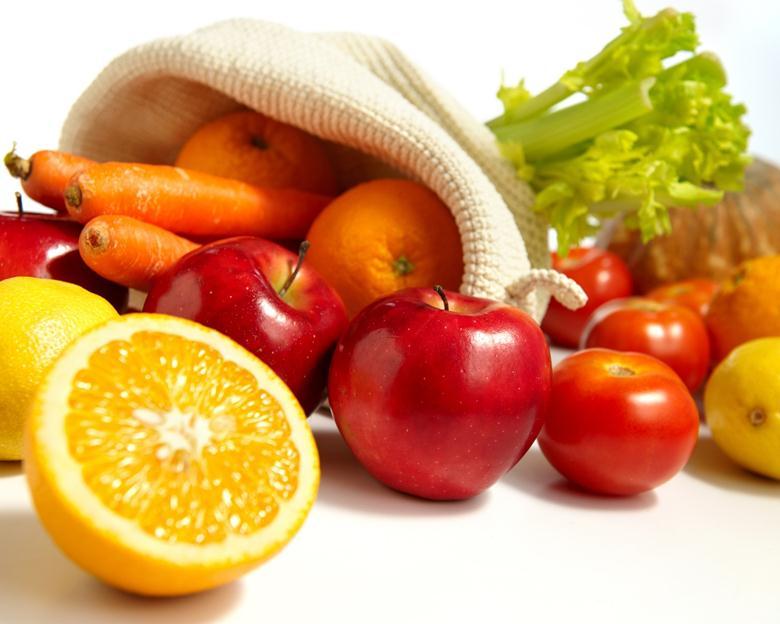 Растительные продукты содержат ретинол