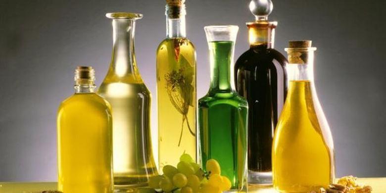 Растительные масла содержат витамин Е