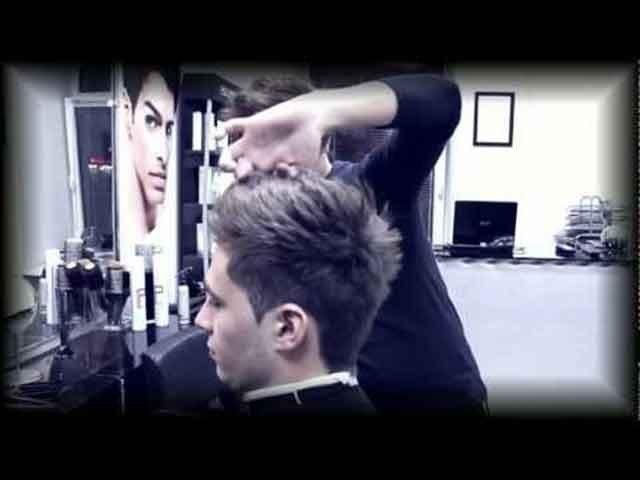 У парикмахера