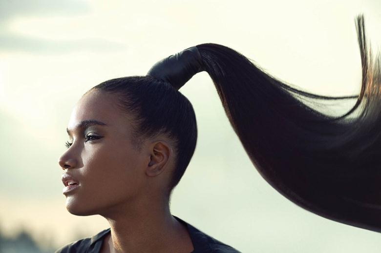 Стягивание волос