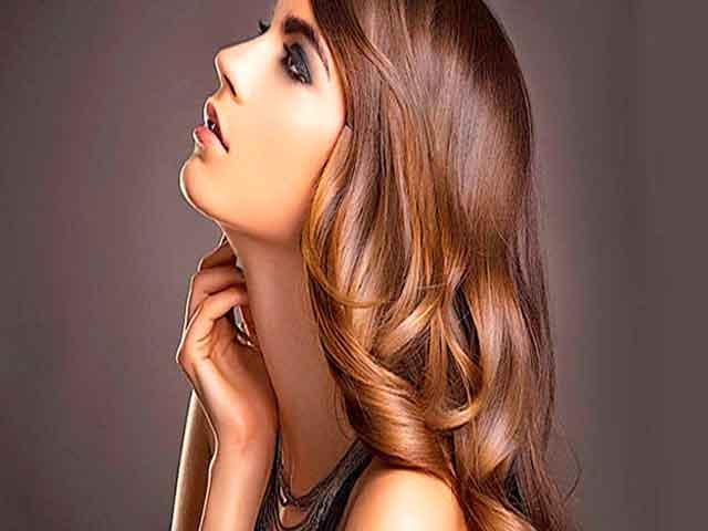 Искрящиеся волосы