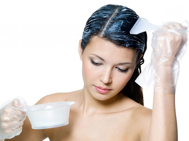 Распределение смеси по волосам