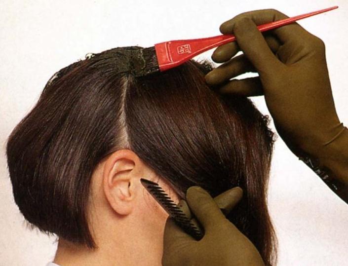 Распределение маски по волосам