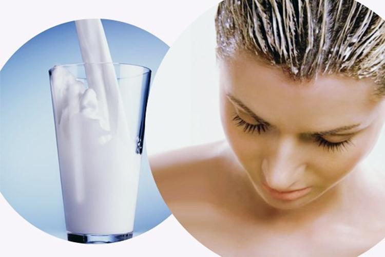 Маска из кисломолочного продукта