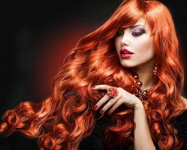Огненные волосы